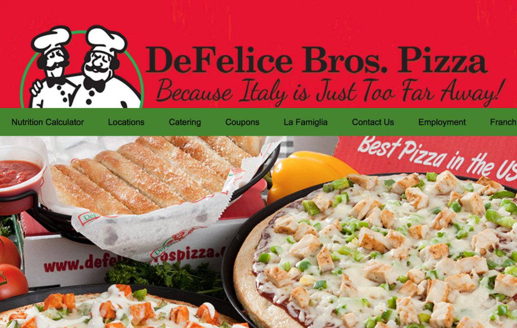 DEFELICE BROS. PIZZA